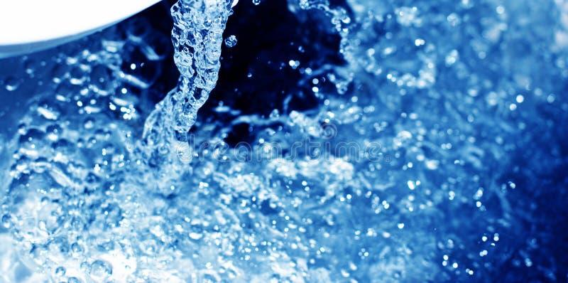 Meeslepend water 3 stock afbeelding