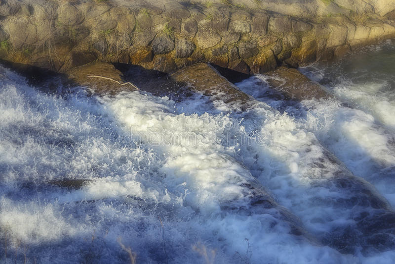 Meeslepend water stock afbeeldingen