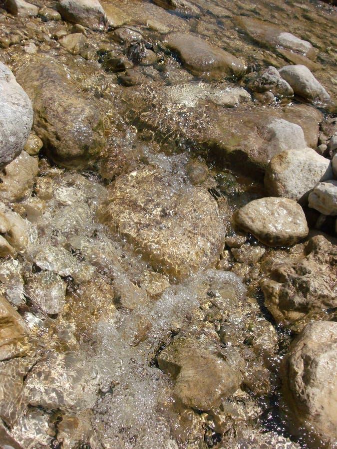 Meeslepend water royalty-vrije stock afbeelding