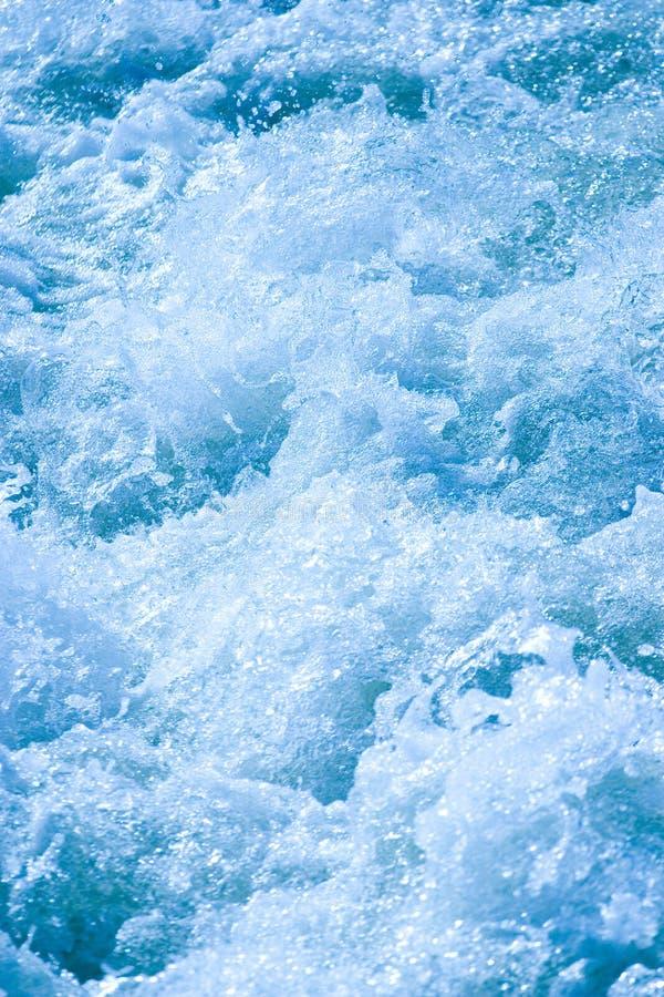 Meeslepende Wateren stock afbeelding