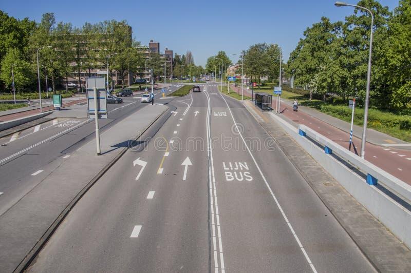 Meester G Groen van Prinstererlaan Street en Amstelveen los Países Bajos imagenes de archivo
