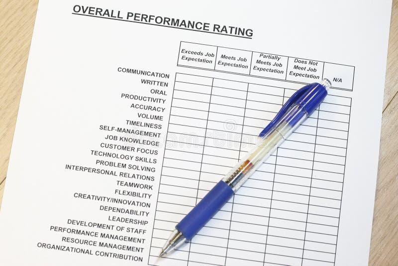 Meet job expectation stock photography