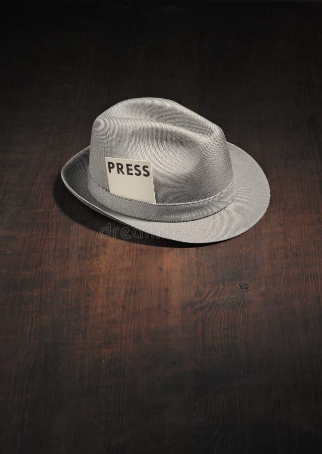 Download Meet the press stock photo. Image of headgear, journalist - 11447444