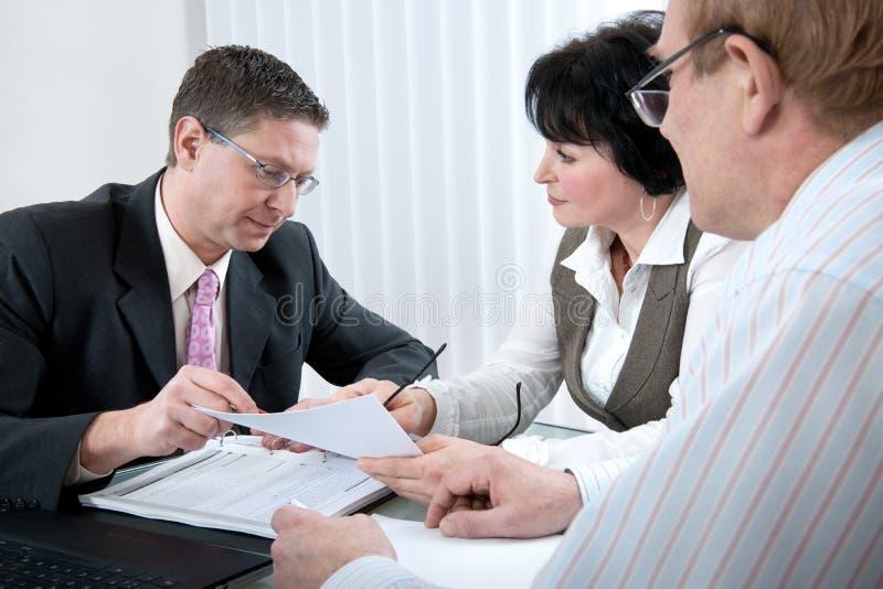 Download Meeting stock photo. Image of horizontal, asking, debt - 12786470