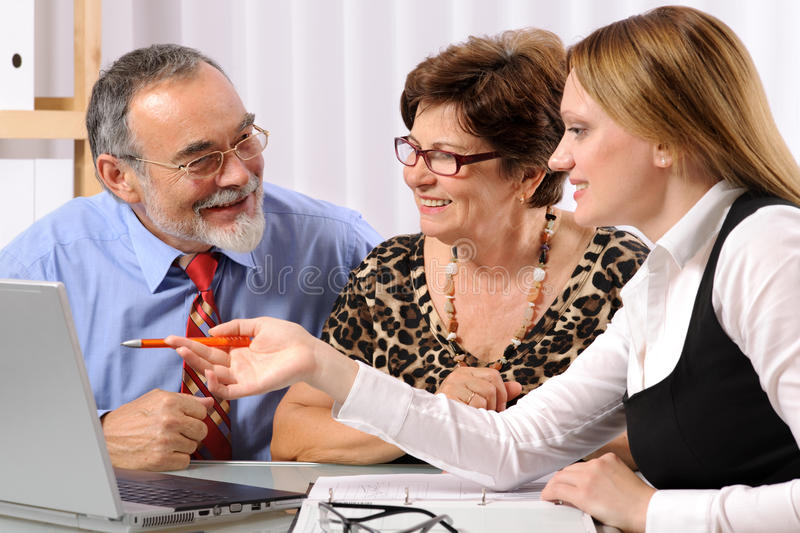 Download Meeting stock photo. Image of advisor, consultant, answering - 14876840