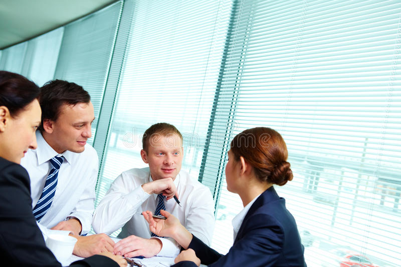 Download Meeting stock image. Image of gathered, group, businesswoman - 23868809