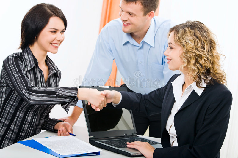 Download Meeting stock image. Image of commerce, female, businessteam - 3510849
