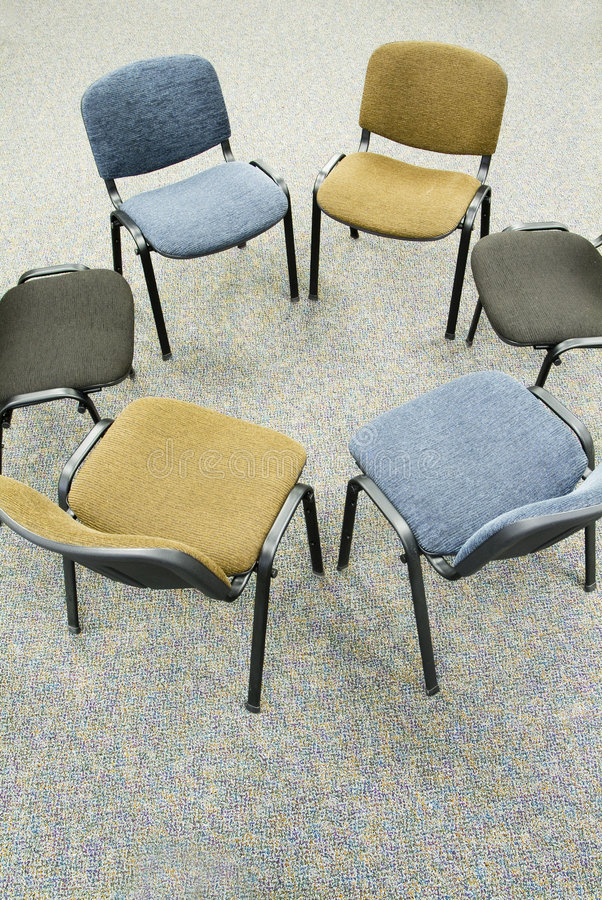 Meeting chair royalty free stock image