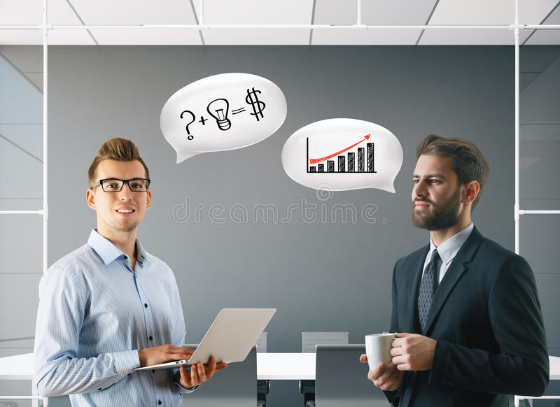 Meeting concept royalty free stock photo