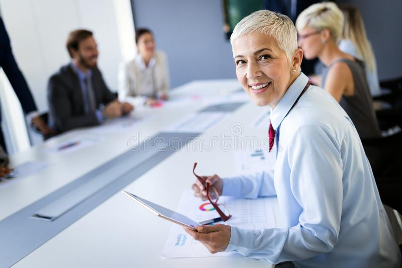 Meeting Corporate Success Business Brainstorming Teamwork Concept. Meeting Corporate Company Success Business People Brainstorming Teamwork Concept stock photography