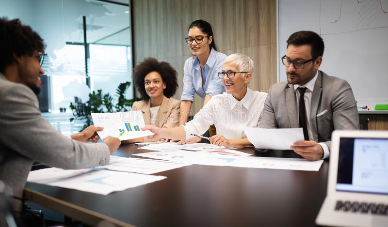 Meeting Corporate Success Business Brainstorming Teamwork Concept. Meeting Corporate Company Success Business People Brainstorming Teamwork Concept royalty free stock image