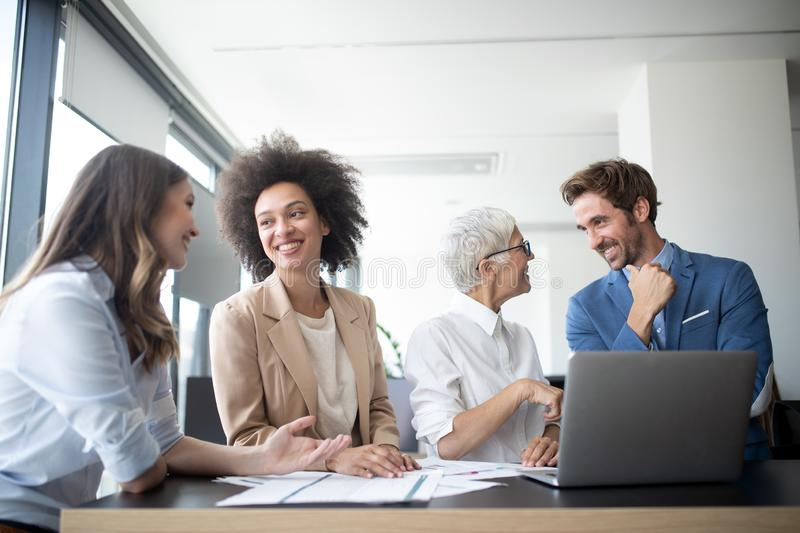 Meeting Corporate Success Business Brainstorming Teamwork Concept. Meeting Corporate Company Success Business People Brainstorming Teamwork Concept royalty free stock images