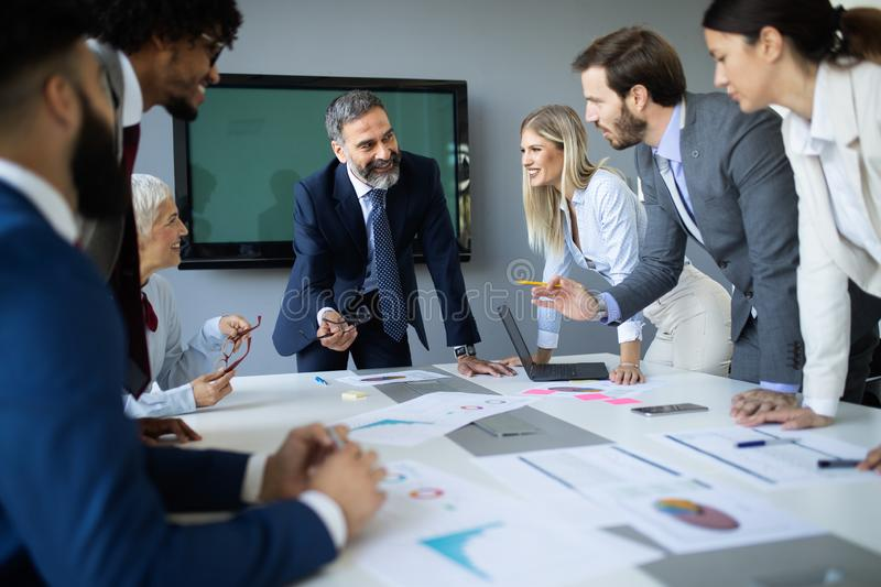 Meeting Corporate Success Business Brainstorming Teamwork Concept. Meeting Corporate Company Success Business People Brainstorming Teamwork Concept royalty free stock photography