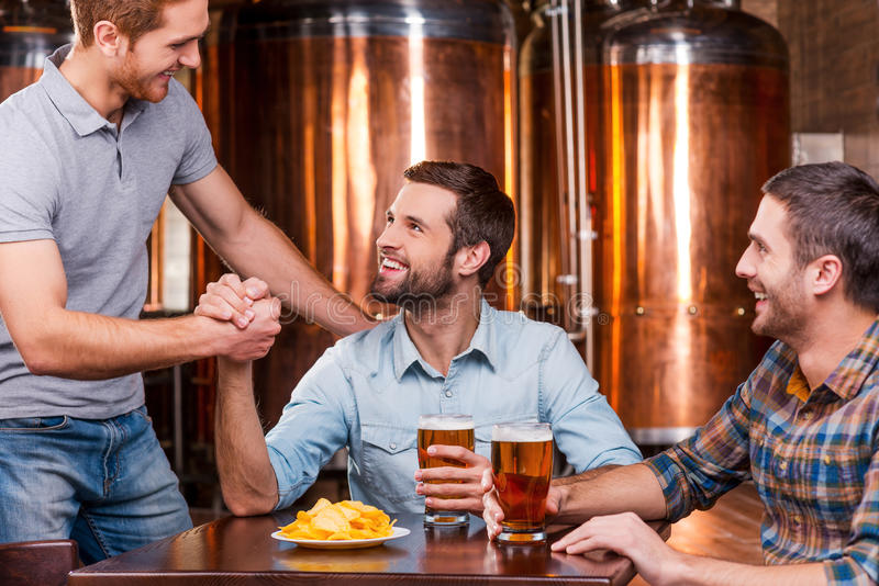 Meeting old friend. stock image. Image of customer, hands ...