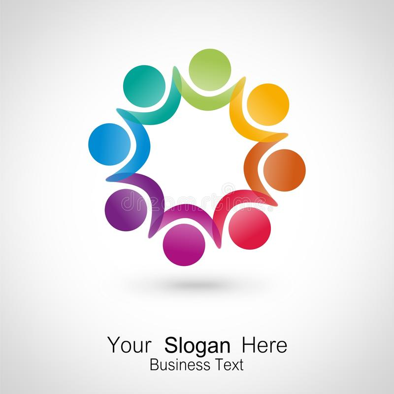 Download Meeting People. Icon Design Stock Photo - Image: 29389162