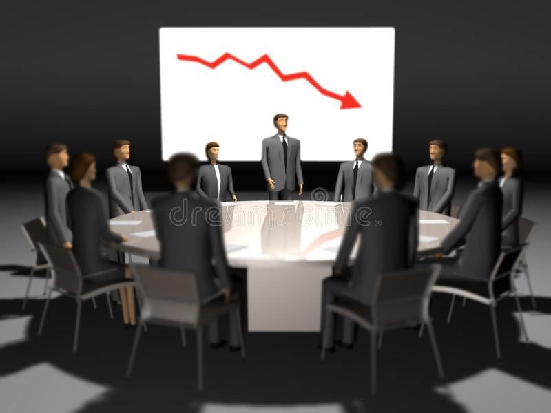 Download Meeting People At Round Table Stock Image - Image of concepts, crisis: 7963787