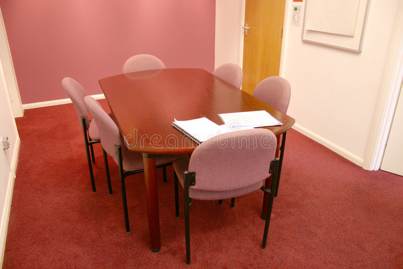 Download Meeting Room 2 stock photo. Image of corporate, wood, phone - 72276