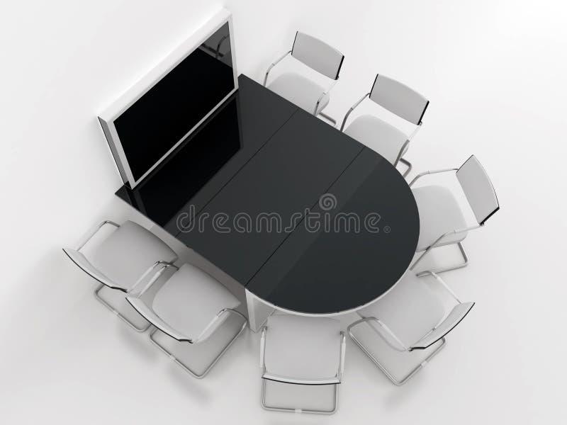Meeting room vector illustration