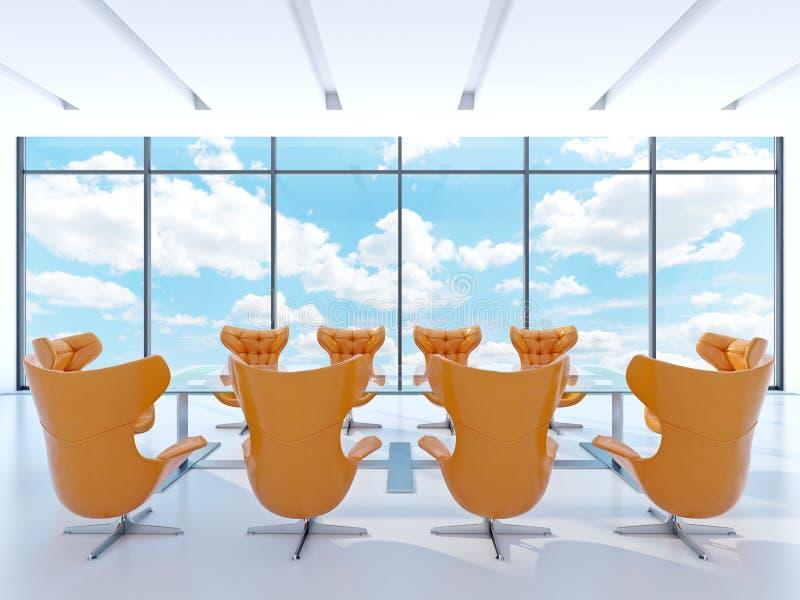 Download Meeting room stock illustration. Illustration of twelve - 26250190