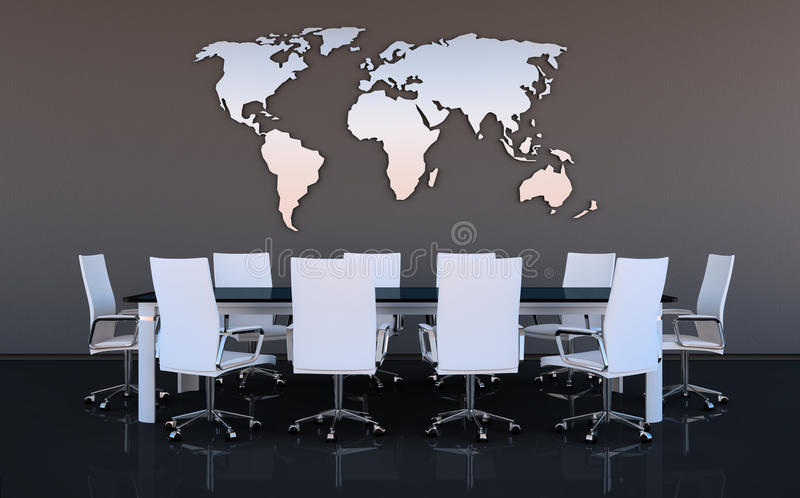 Download Meeting room stock illustration. Image of chairs, interior - 27520897