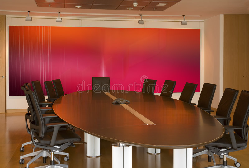Download Meeting room stock image. Image of nobody, gray, modern - 3442439