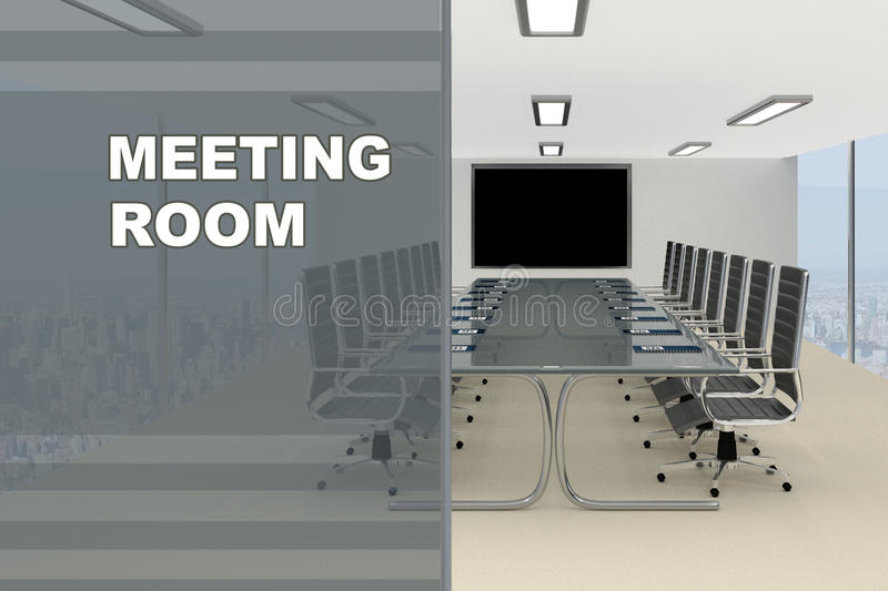 Download Meeting Room Concept Stock Illustration Illustration Of Architecture