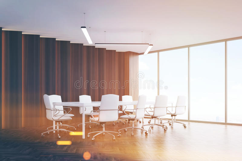 Download Meeting room corner, toned stock illustration. Image of office - 83722071