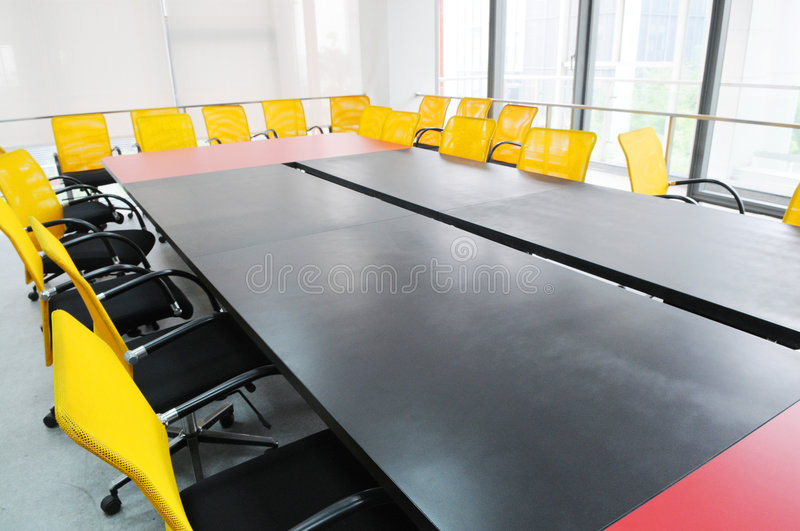 Download The Meeting Room Interior Royalty Free Stock Photography - Image: 9174167