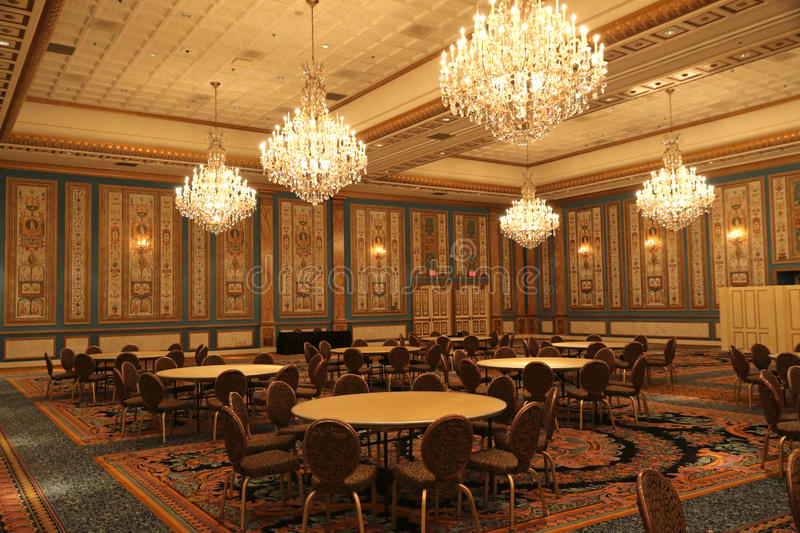 Meeting room. Luxury meeting room at the Paris hotel and casino in Las vegas royalty free stock photo