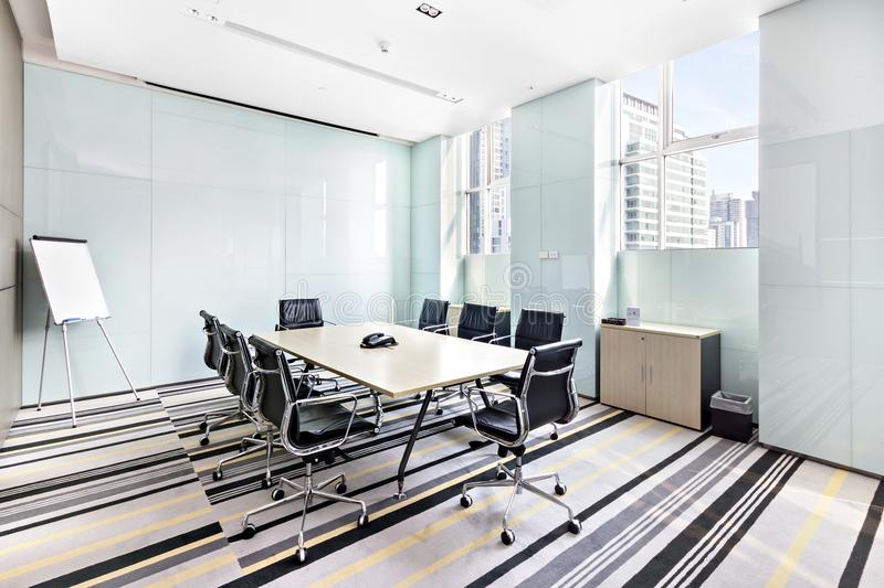 Meeting rooms are very clean and comfortable. royalty free stock photo