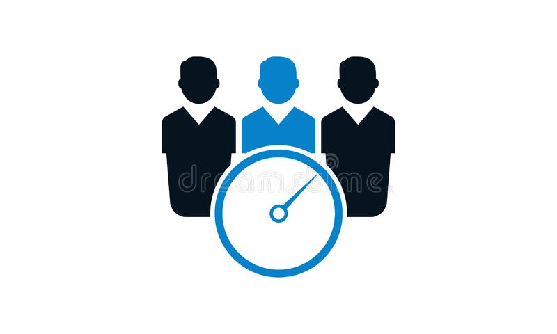 Meeting time Schedule icon. Trendy Schedule logo concept on white background . vector illustration