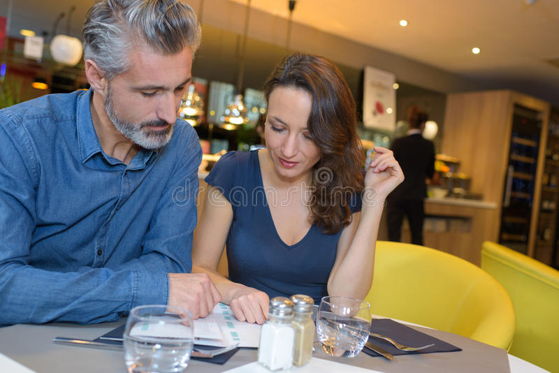 Meeting up with lover royalty free stock photos