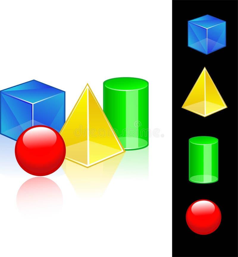 Meetkunde vector illustratie