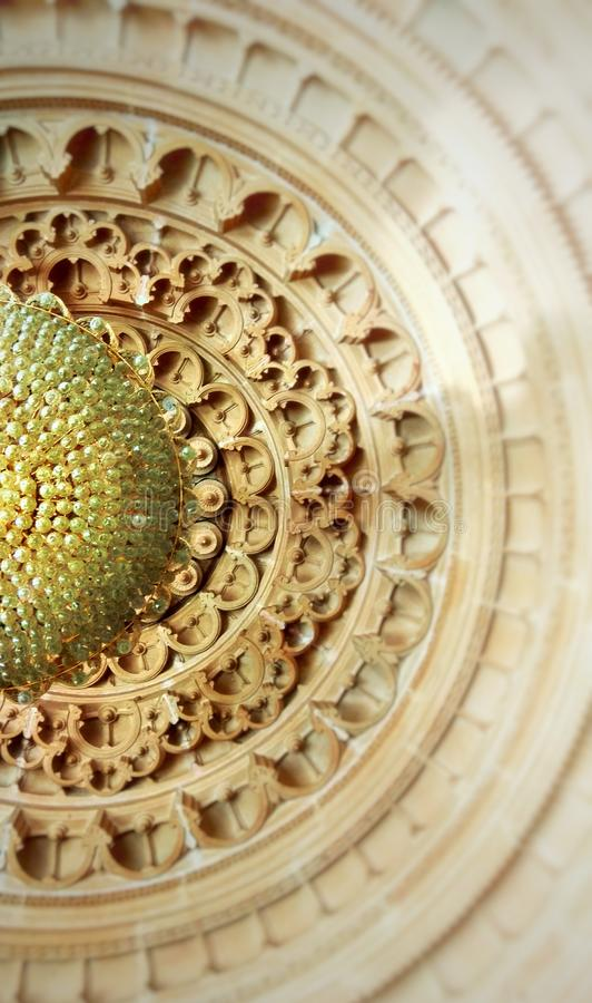 Meetkunde en Symmetrie in Indische Cultuur stock foto
