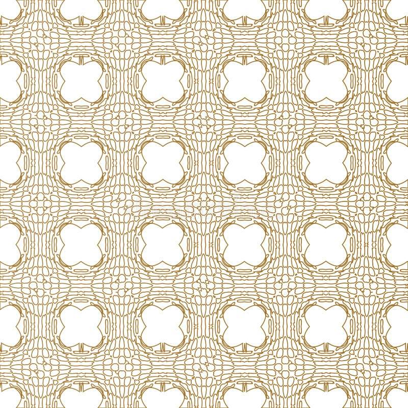 Meetkunde gouden patroon Eenvoudig abstract patroon voor uw ontwerp vector illustratie