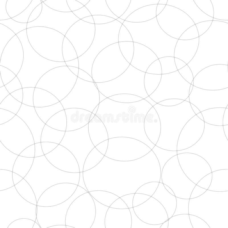 Meetkunde, ornament, naadloos patroon Vector vector illustratie