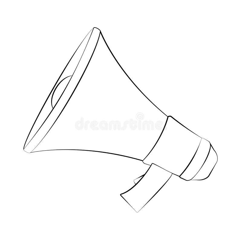 megáfono libre illustration