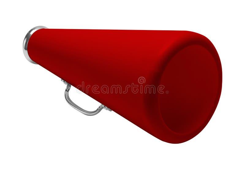 Megáfono rojo imagen de archivo