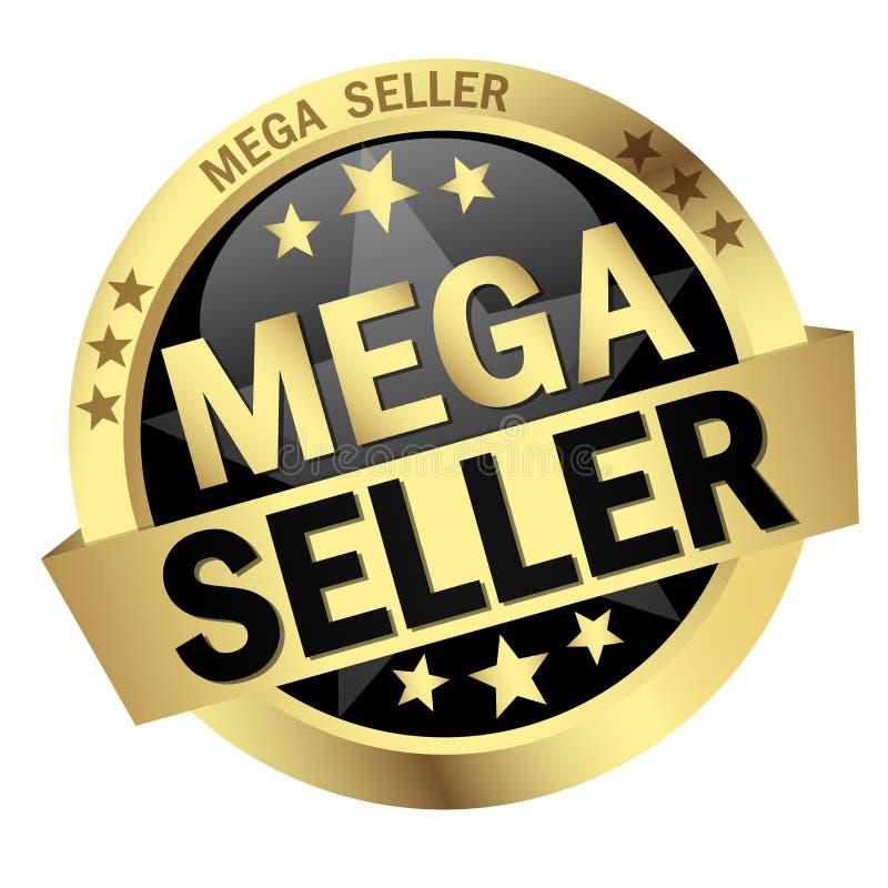 Mega säljare för knapp stock illustrationer