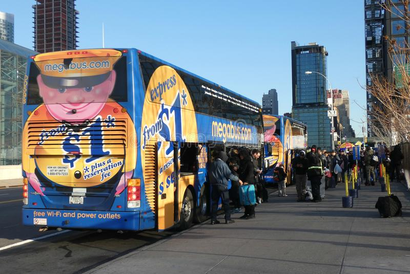 Megabus imagen de archivo