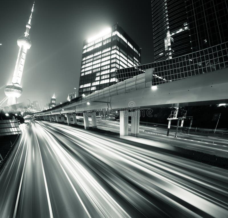 Megacity Highway stock photography