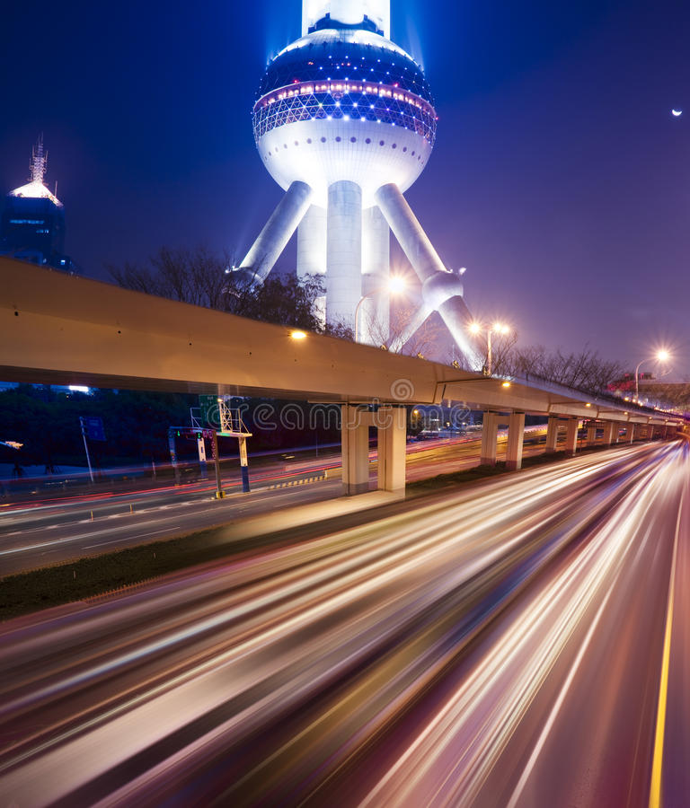 Megacity Highway royalty free stock images