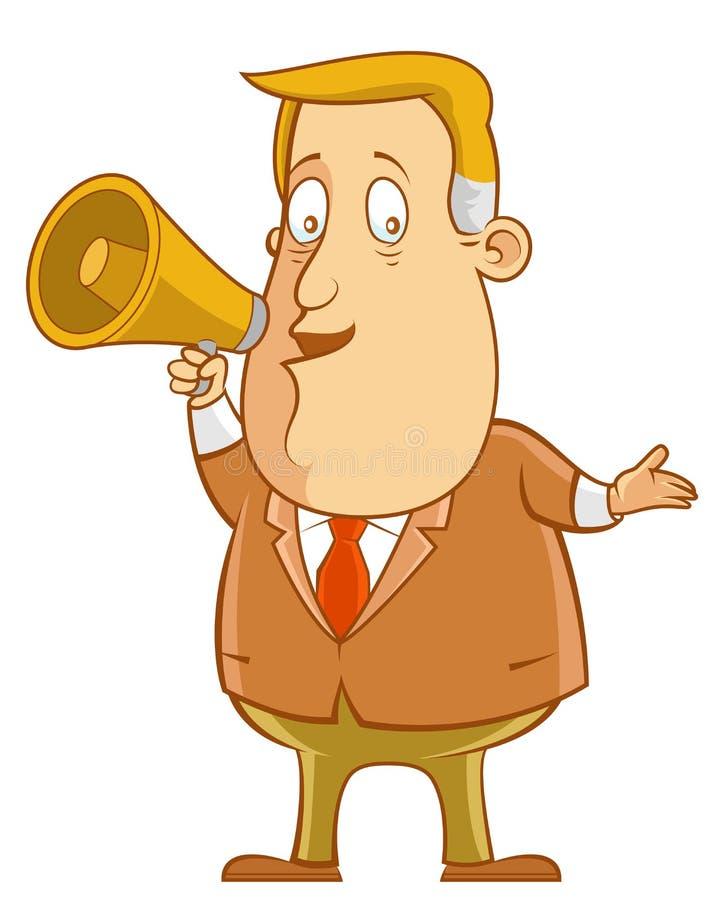 megafono royalty illustrazione gratis