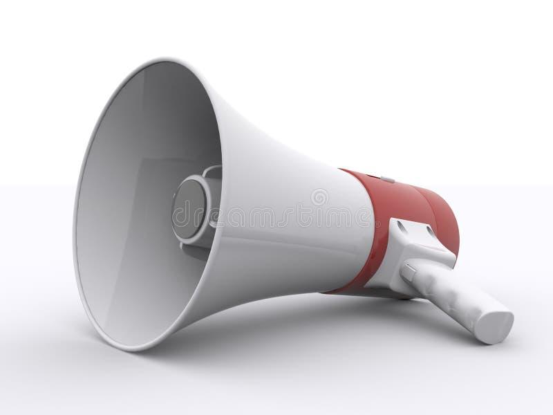 megafono illustrazione vettoriale