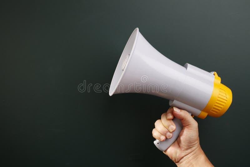 megafono fotografia stock