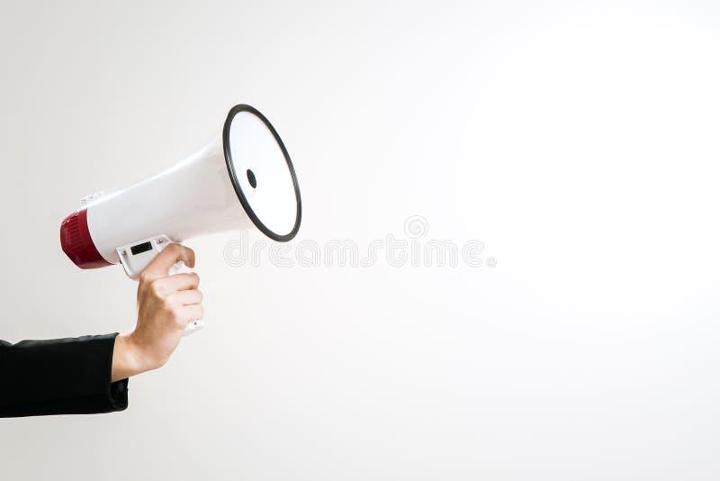 megafono fotografia stock libera da diritti