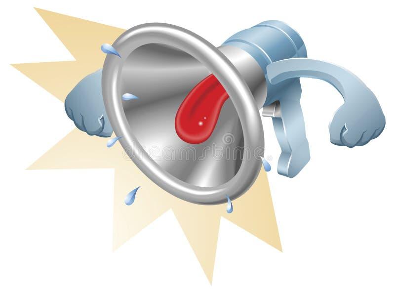 Download Megafonu Loudhailer Megafonu Target2115_0_ Ilustracja Wektor - Obraz: 19540563