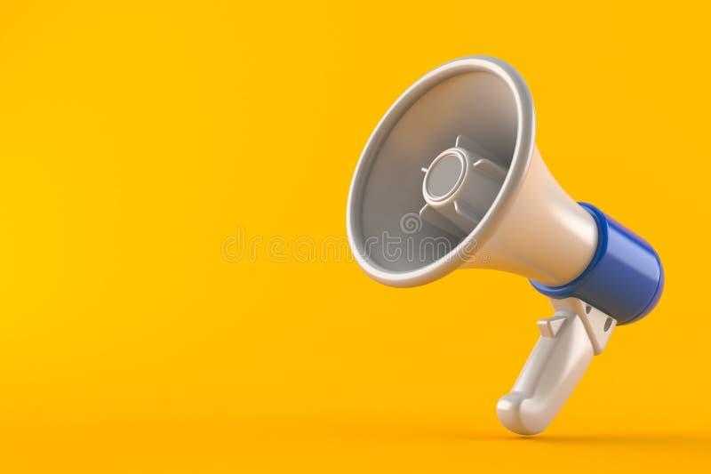 megafoon royalty-vrije illustratie