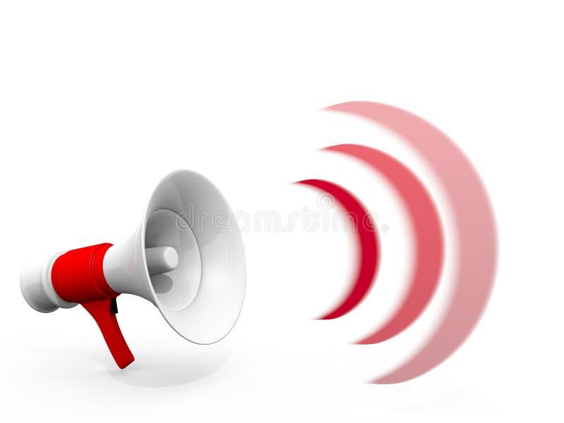 Megafoon vector illustratie