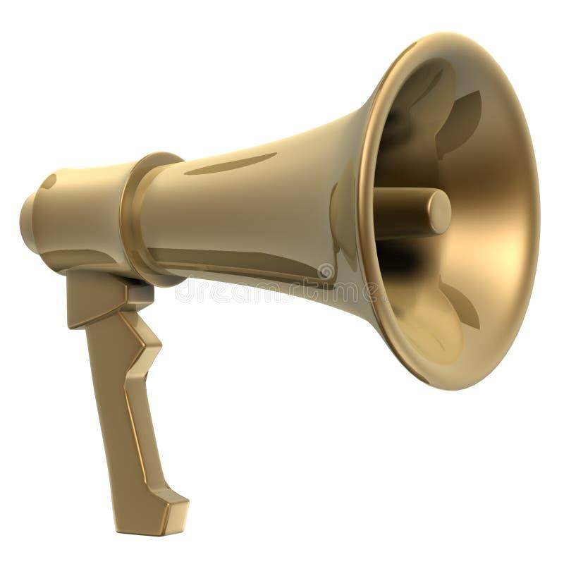 Megafoon stock illustratie